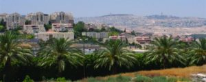 The City of Ma'ale Adumim, Only 3 Miles from Jerusalem