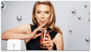 Scarlett Johansson Advertising SodaStream=