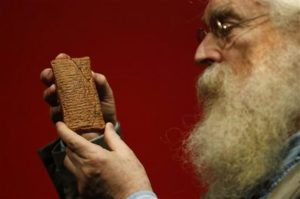 Dr Irving Finkel With His Version of The Noah Story