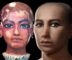 Forensic Reconstruction of King Tut's Face
