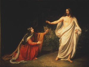 Mary Magdalene - Rejected no more (Alexander Ivanov, 1860)