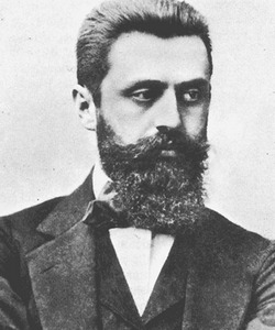Theodor Herzl, father of modern Zionism