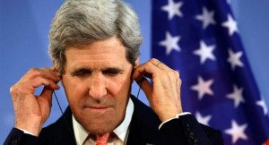 U.S. Secretary of State, John Kerry, not listening to history