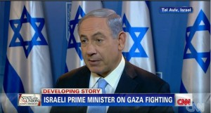Netanyahu on cnn