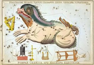 Cetus as a sea dragon, 1825
